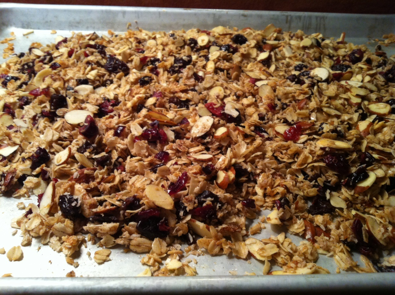 ... Contessa's Cherry, Almond and Cinnamon Granola (seriously adapted